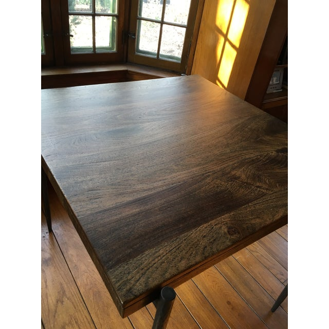 Iron Base Pub Table For Sale - Image 9 of 12