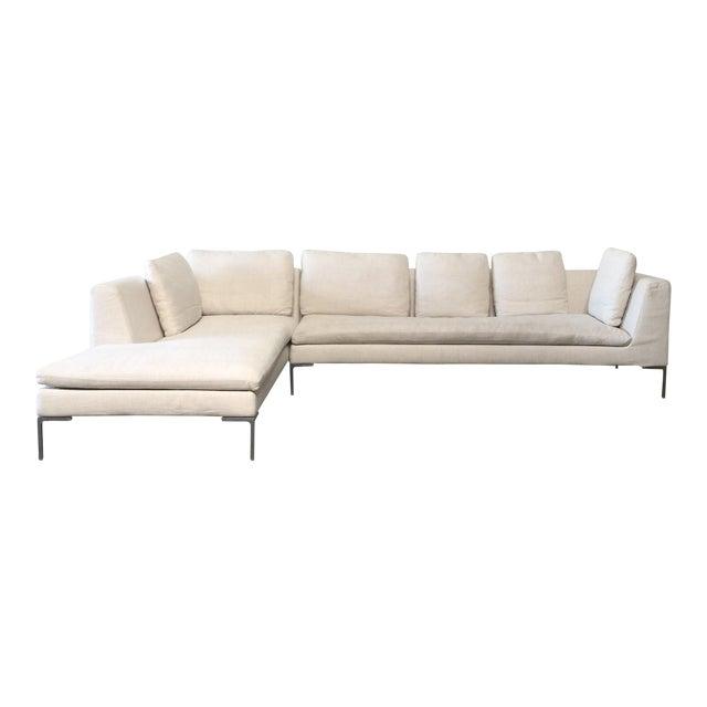 Antonio Citterio B&B Italia 'Charles' Sofa For Sale