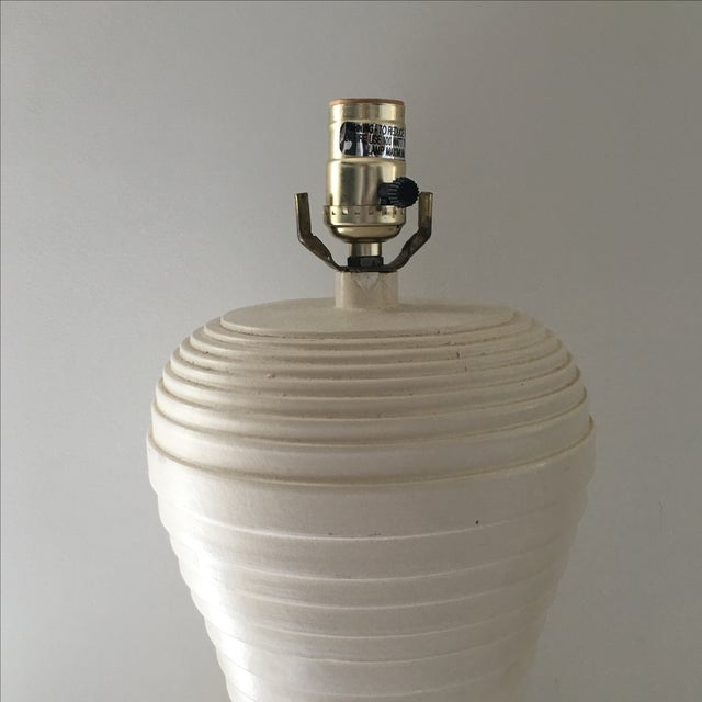 Modern Pleated Lamp - Image 3 of 7