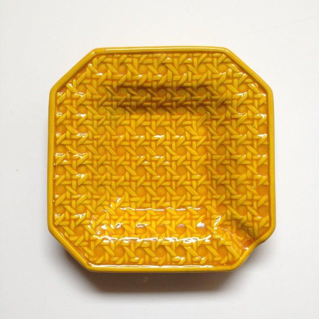 Yellow Italica Ars Cane Ashtray - Image 2 of 7
