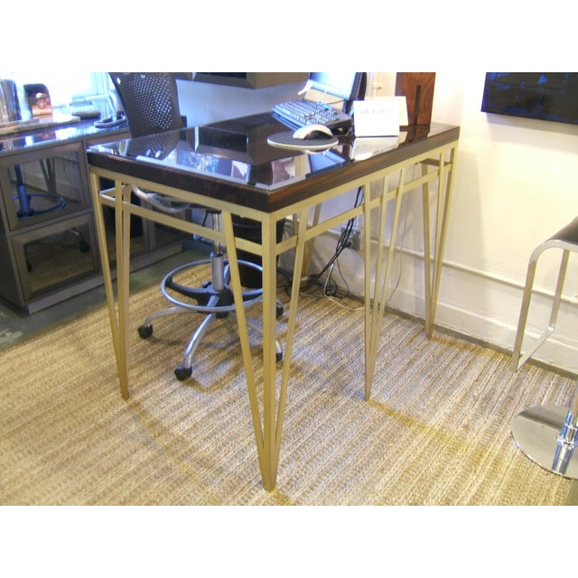 Solid Macassar Top Desk - Image 2 of 3
