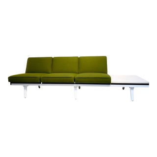 Mid Century Modern George Nelson for Herman Miller Steel Frame Sofa For Sale