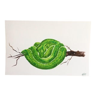 Tree Snake Original Acrylic Painting