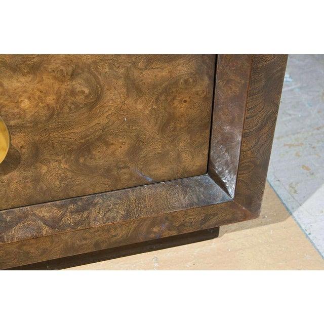 Brown Mid-Century Nine Drawer Dresser by Mastercraft For Sale - Image 8 of 11