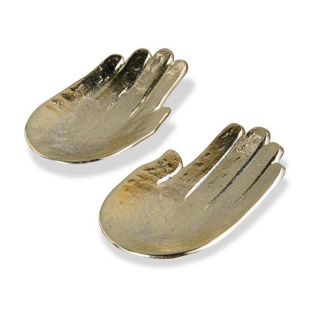Golden Hands Trinket Dish - A Pair - Image 2 of 3