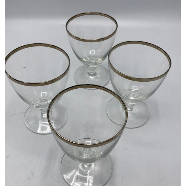 This Mid-Century Fostoria glassware evokes the 1960s of Audrey Hepburn and Grace Kelly. Beautiful simple design with clean...