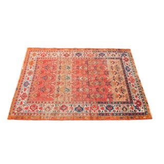 "Antique Orange Malayer Rug - 4'5"" x 6'6"""