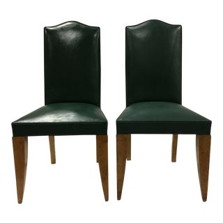 French Deco Chairs, 1940s - A Pair For Sale