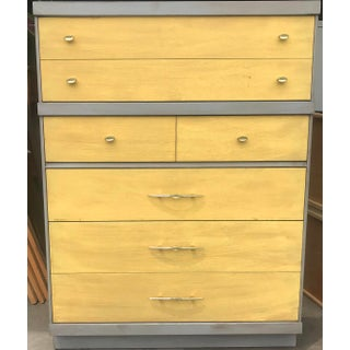 1960s Mid Century Modern Bassett Highboy Dresser Preview