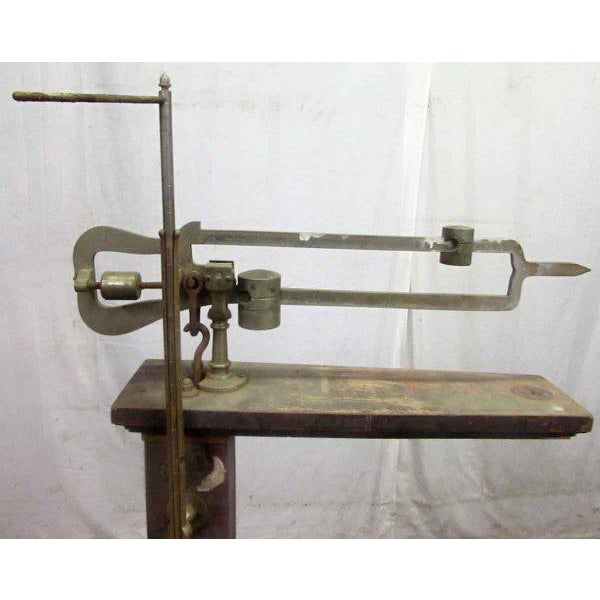 Industrial Fair Banks Antique Scale For Sale - Image 3 of 9