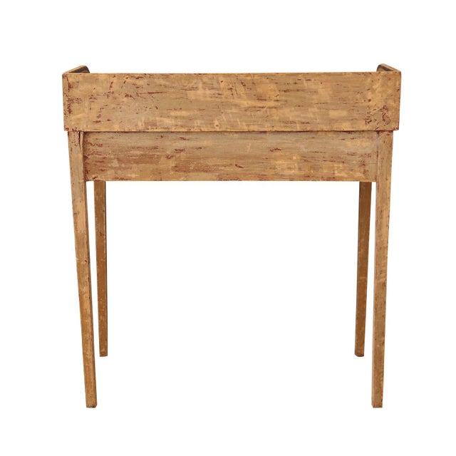 Black English Side Table For Sale - Image 8 of 9