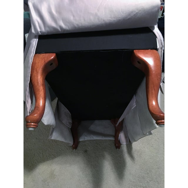 Lavender Chaise Lounge Chair/Bench For Sale In Los Angeles - Image 6 of 8