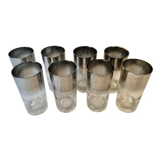 Mid-Century Dorothy Thorpe Style Drinking Glasses - Set of 8 - Image 1 of 9