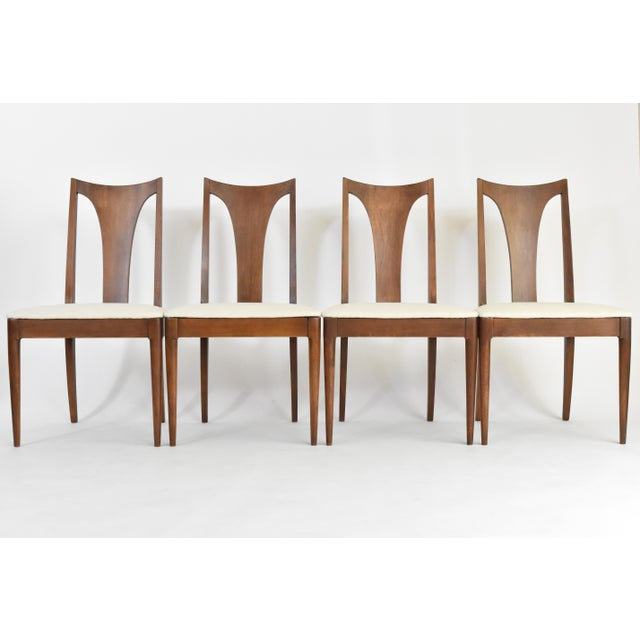 Mid-Century Broyhill Premiere Dining Chairs - Set of 6 - Image 4 of 10