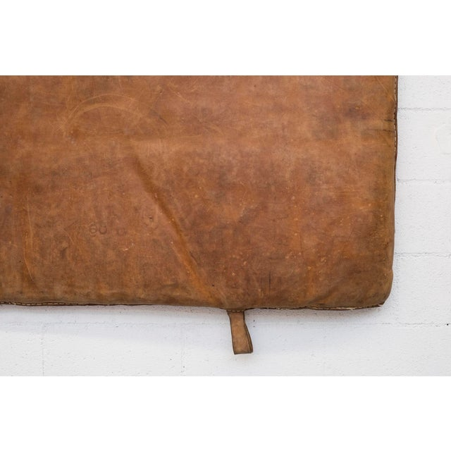 Vintage Leather Gymnastics Mat - Image 7 of 8