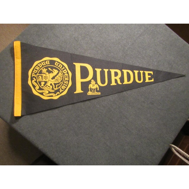 Vintage Purdue University Pennant - Image 2 of 9