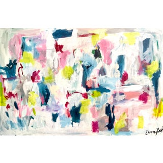 Contemporary Abstract Expressionist Acrylic Painting by Ebony Boyd For Sale