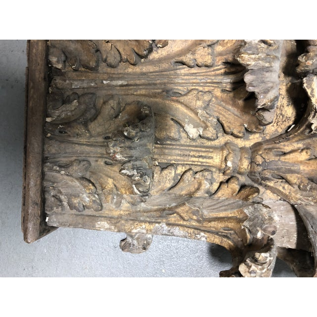 Antique Chapiteaux - a Pair For Sale In Charlotte - Image 6 of 12