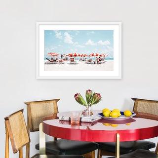 """Medium """"Miami Ii"""" Print by Natalie Obradovich, 30"""" X 20"""" Preview"""