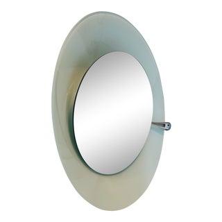 1980s Vintage Fontana Arte Mirror/Light For Sale