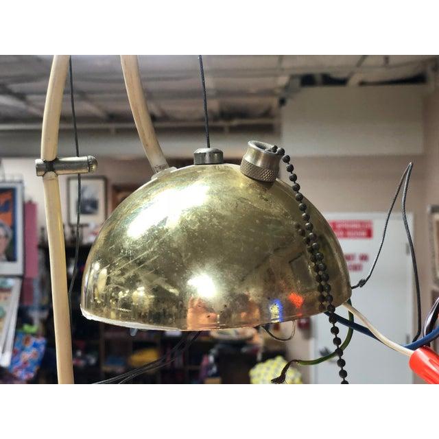 Vetri Vetri Murano Mid-Century Dome Pendant Light For Sale - Image 4 of 7