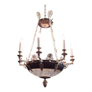 Early 20th C French Empire Chandelier