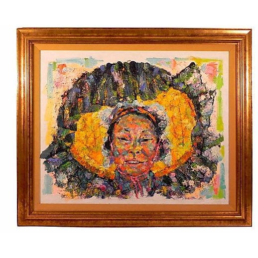 """Huaca Woman"" Painting by Texana - Image 1 of 3"