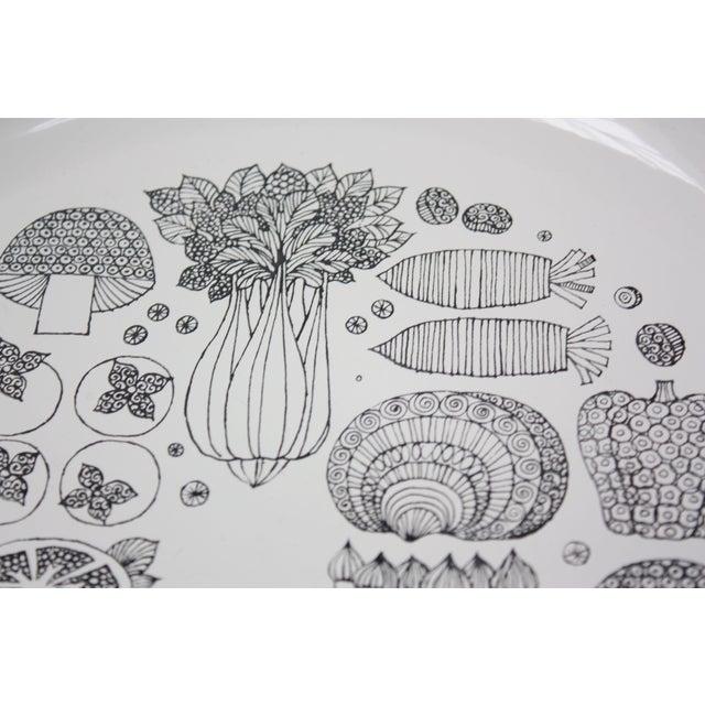 Mid-Century Modern Georges Briard Enamel Fruit / Vegetable Plate For Sale - Image 3 of 9