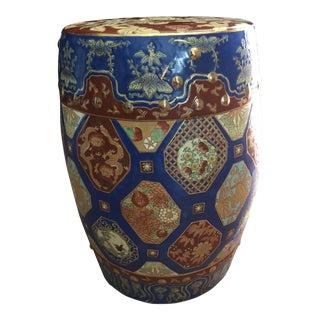 Vintage Chinese Ceramic Garden Stool