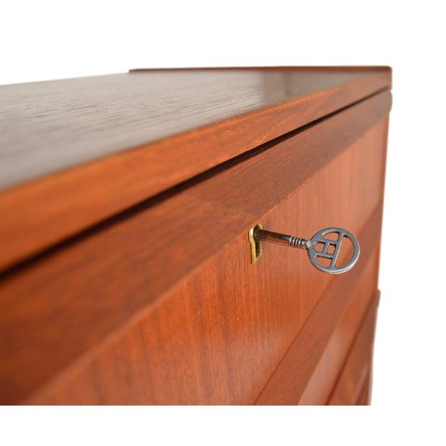Danish Teak Dresser - Image 6 of 7