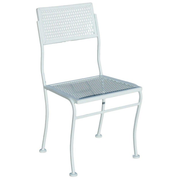Mid-Century Modern Mid-Century Russell Woodard Steel Outdoor/Patio Furniture For Sale - Image 3 of 6