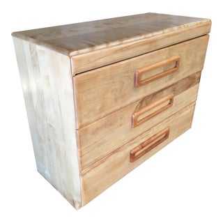 "Heywood Wakefield Blond ""Encore"" Birch Lowboy Dresser For Sale"