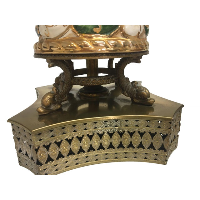 Antique Capodimonte Italian Porcelain Lamps - A Pair - Image 2 of 4