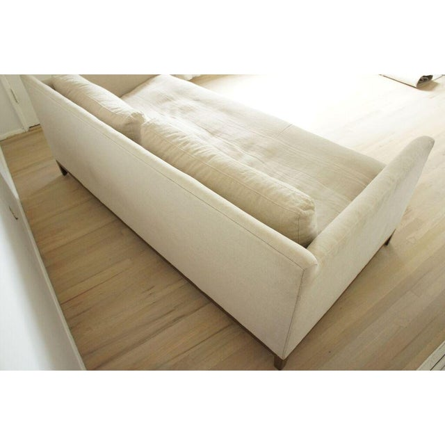 Cisco Home Flax Linen Sofa - Image 7 of 10