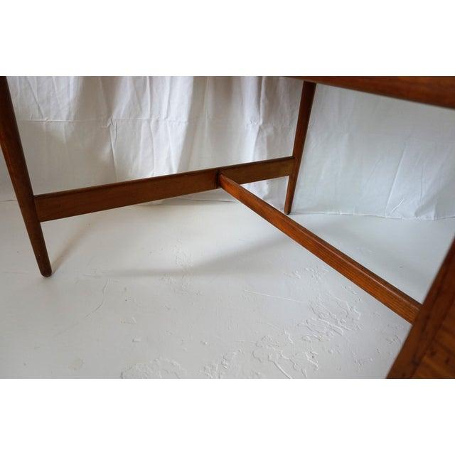 Teak Arne Vodder Danish Modern Boomerang Teak Desk For Sale - Image 7 of 11