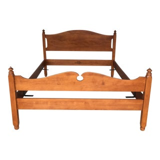 Whitney Furniture Birch Double Bed For Sale