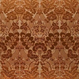 Suzanne Tucker Home Aurora Silk/Cotton Damask in Paprika