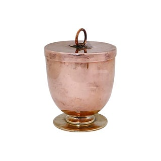 Antique English Copper Ice Cream Mold For Sale