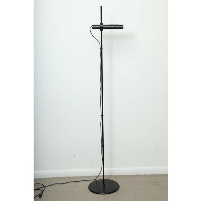 Vintage Artemide Minimalist Black Floor Lamp For Sale - Image 9 of 9