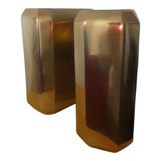 """Nate Berkus """"Hex"""" Vases - A Pair"""