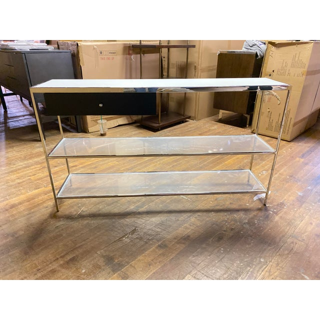 Mitchell Gold + Bob Williams Contemporary Mitchell Gold Manning Console Table For Sale - Image 4 of 4