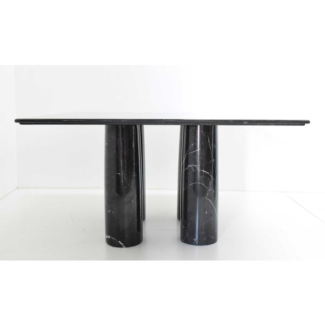 Mario Bellini Il Colonnato Black Marble Table For Sale - Image 13 of 13