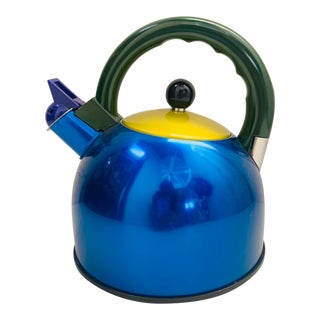 Memphis Milano Style Cook Vessel Tea Kettle For Sale