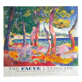 The Fauve Landscape Rare 1991 Henri Manguin Met Museum Exhibition Poster For Sale
