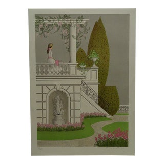 """Limited Edition """"Afternoon"""" Signed Numbered (18/145) Print by Noyer For Sale"""