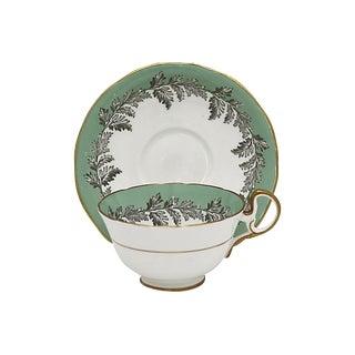 Vintage Aynsley Oak Leaf Tea Cups For Sale
