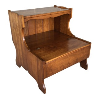 1950's L. Stickley Cherry Valley Nightstand Side Table For Sale