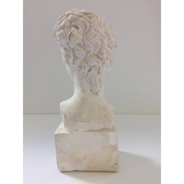 Plaster Bust of David Sculpture - Image 4 of 5