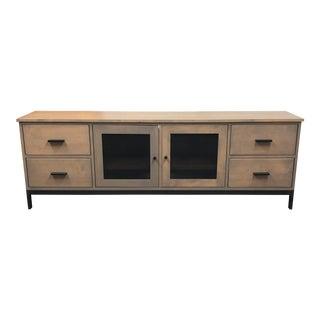 Contemporary Room & Board Custom Linear Media Sideboard
