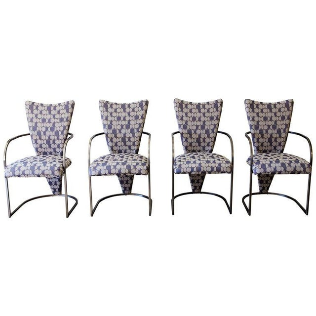 Dining Chairs, Set of 4, by Design Institute America, Midcentury, Reupholstered For Sale - Image 13 of 13